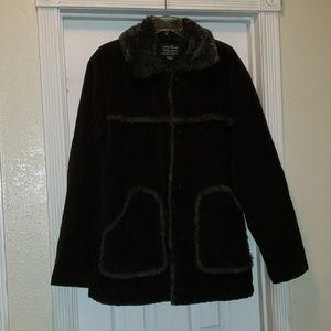 Lucky Brand Corduroy Sherpa Jacket